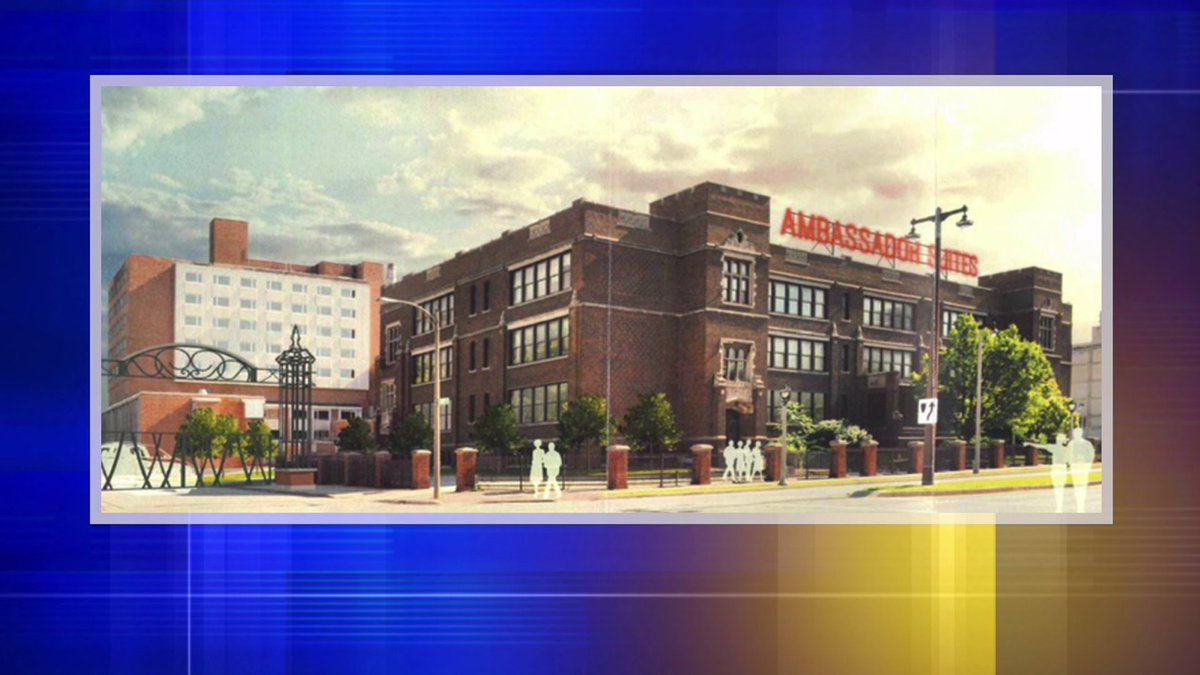 Zoning board gives initial go-ahead to turn former MPS school into Extended Stay hotel: