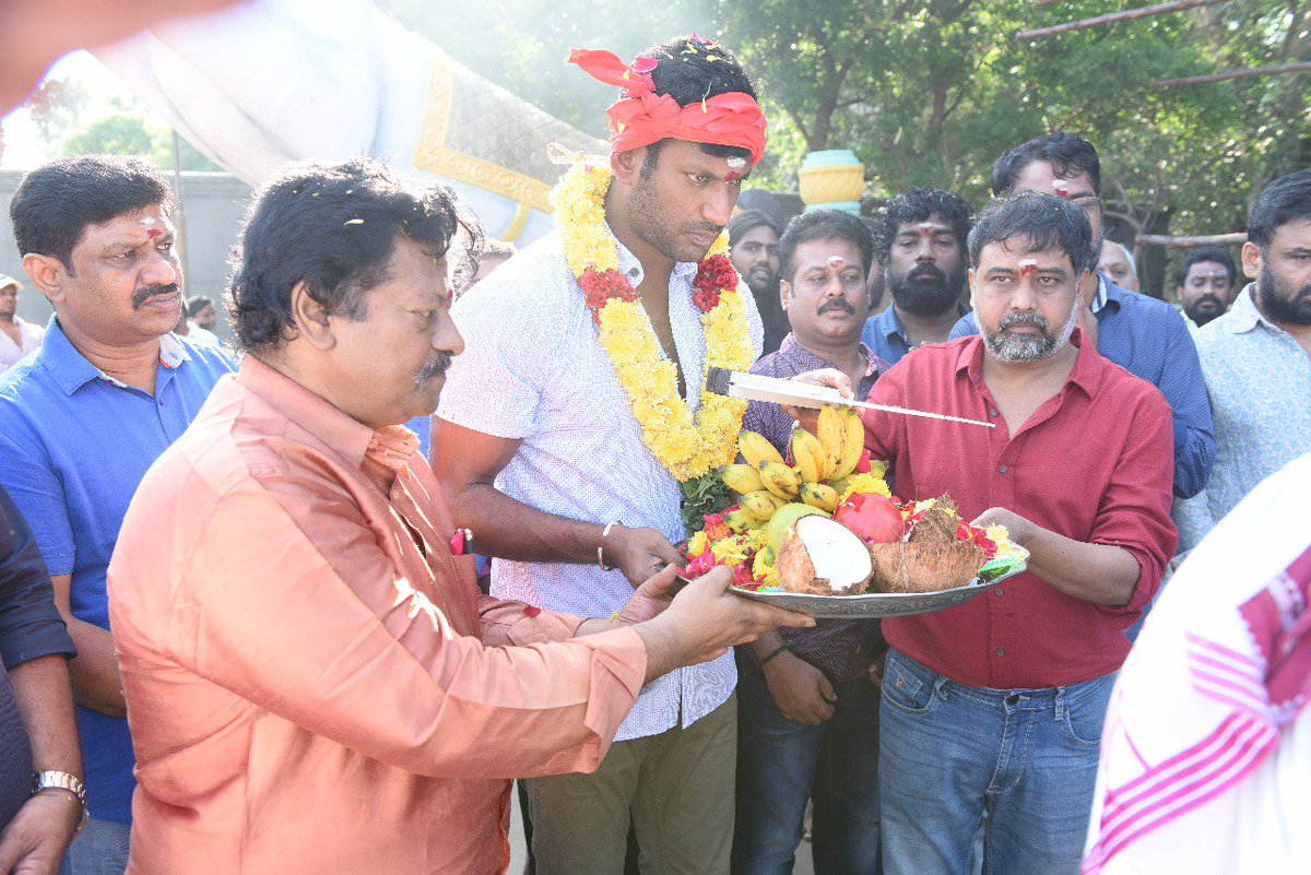 sandakozhi2 movie launch posters