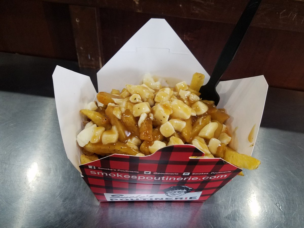Enjoyed a great day working at Brock U.  When in Canada... #Poutine <br>http://pic.twitter.com/KUBO55hqOO