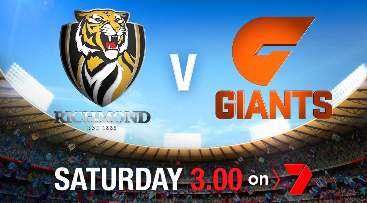 The ONLY place to get #AFLFinals LIVE and FREE is on @Ch7Adelaide. See the blockbuster #AFLTigersGiants Prelim Final this Saturday. #7News