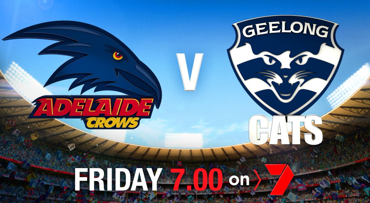 The ONLY place to get #AFLFinals LIVE and FREE is on @Ch7Adelaide. See the blockbuster @Adelaide_FC Prelim Final Friday night. #AFLCrowsCats