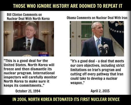 .@HillaryClinton takes issue with #POTUS #UNGA  speech.  &#39;It was very dark and dangerous&#39;. #WhatHappened was, her hubby gave #NorthKoreaNukes <br>http://pic.twitter.com/1pnqUv6zAY