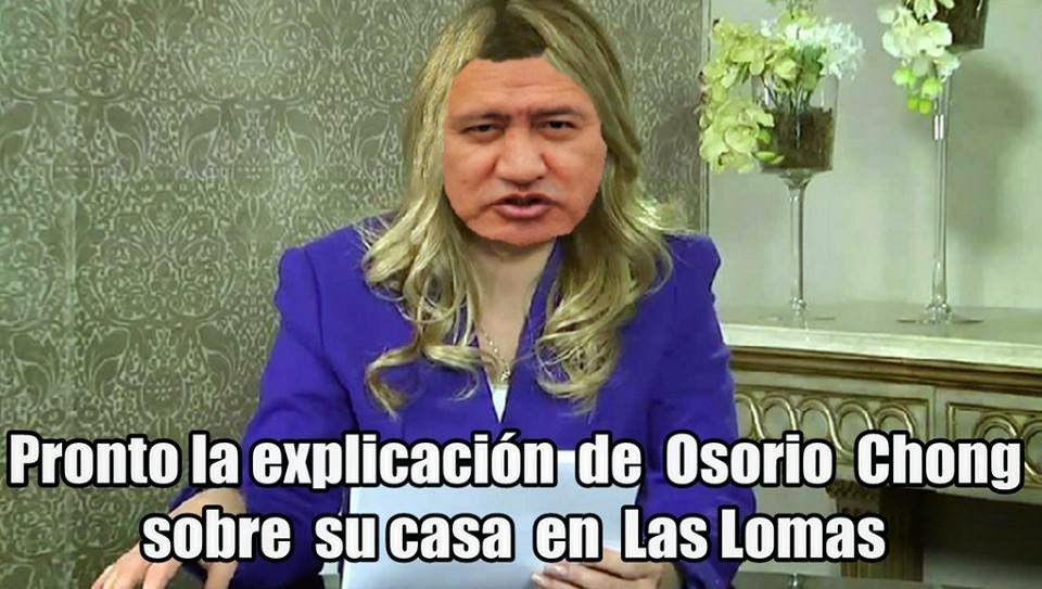 La With House de Osorio Chong.more ilegal inmigrants of China no Mexicans in USA.