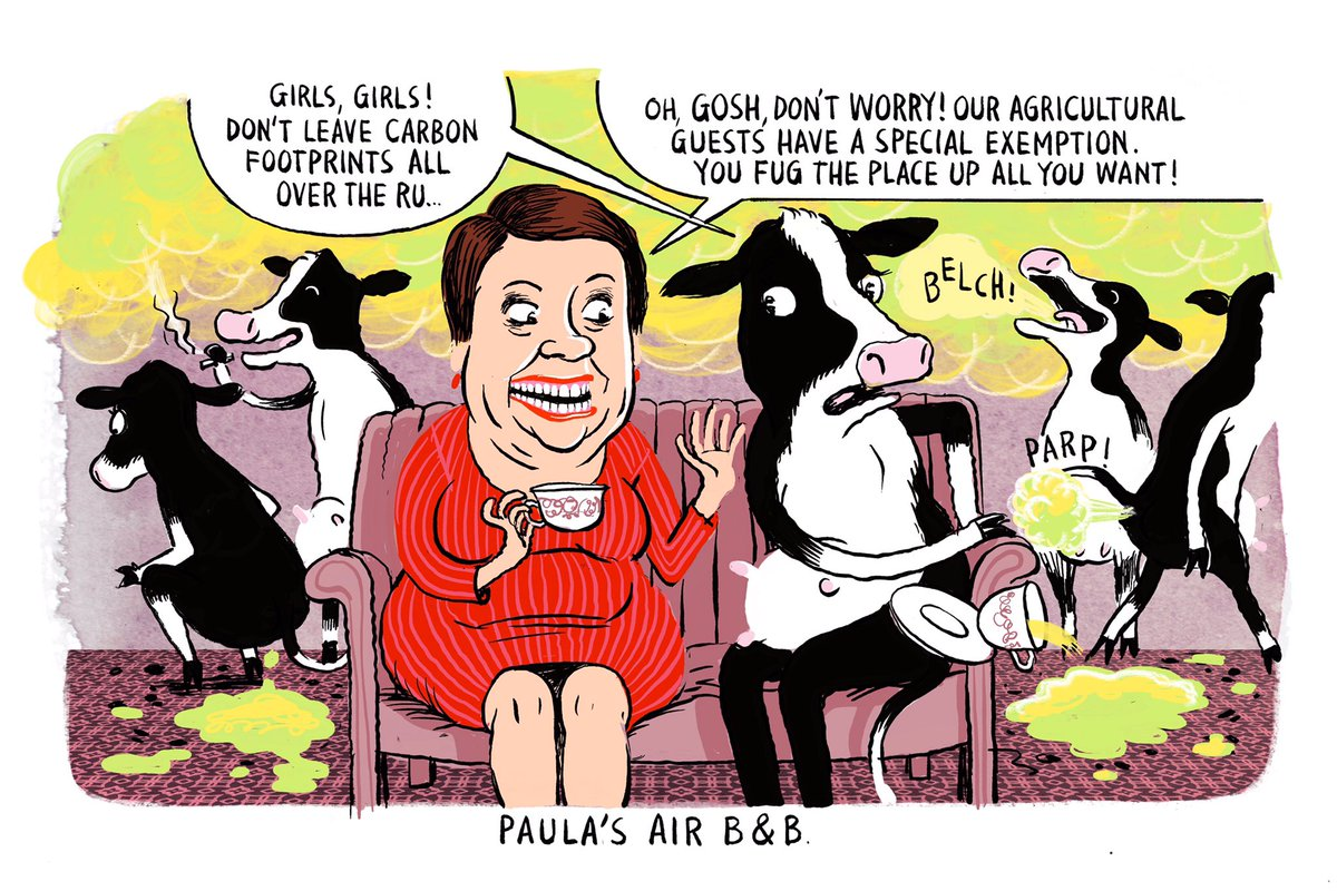 At Paula&#39;s Air B&amp;B. My #cartoon for the latest @Forest_and_Bird magazine.  http:// bit.ly/2avZzaw  &nbsp;   #environment #waterquality #conservation <br>http://pic.twitter.com/y93p7v4rLx