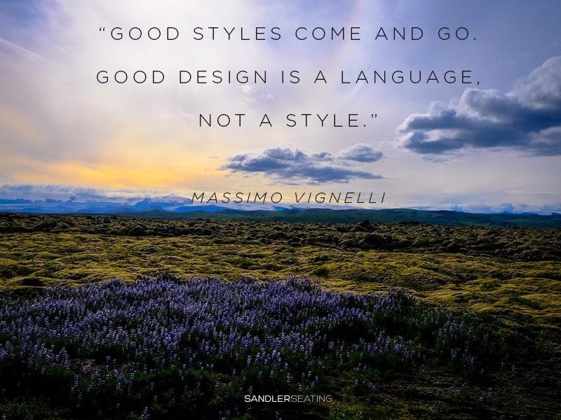 What does good design mean to you? #WednesdayWisdom #Design