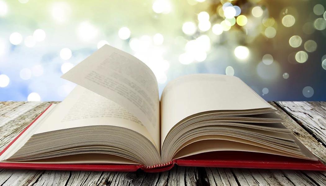 Поздравлением днем, картинки раскрытые книги