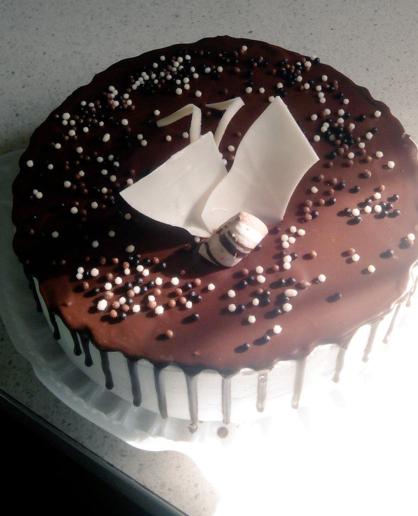 Шоколадный торт с орехами моя кофейня