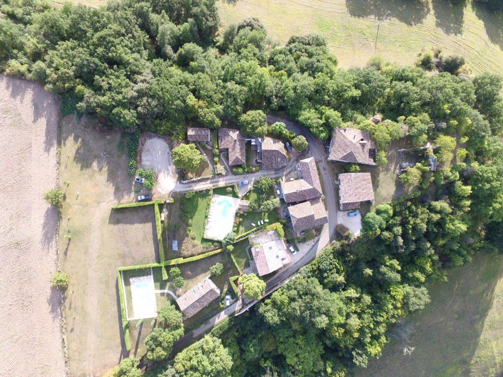Fabulous #drone picture of @VillageLoubas SW #France catering for #large #groups of up to 30 people ! Book now. <br>http://pic.twitter.com/zTCwZbOe9S