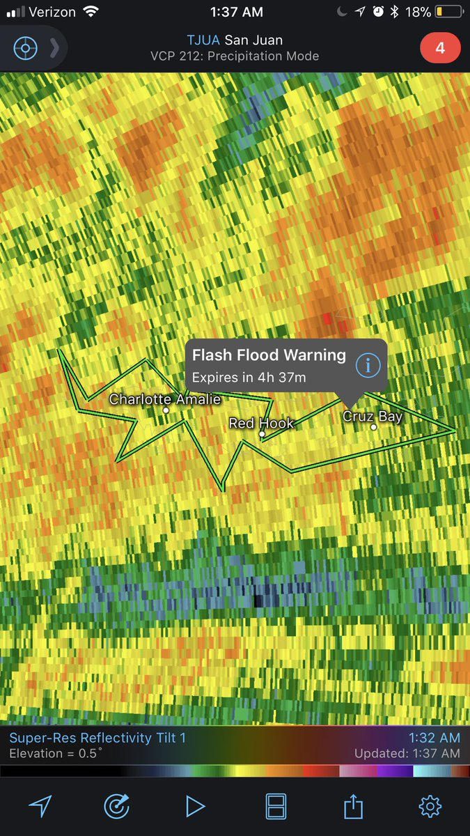 #Flash #Flood #Warning issued for Saint John and Saint Thomas in Virgin Islands till 6:15 AST. Flooding to begin shortly #USVIwx #Maria<br>http://pic.twitter.com/Tu3UApQyeD