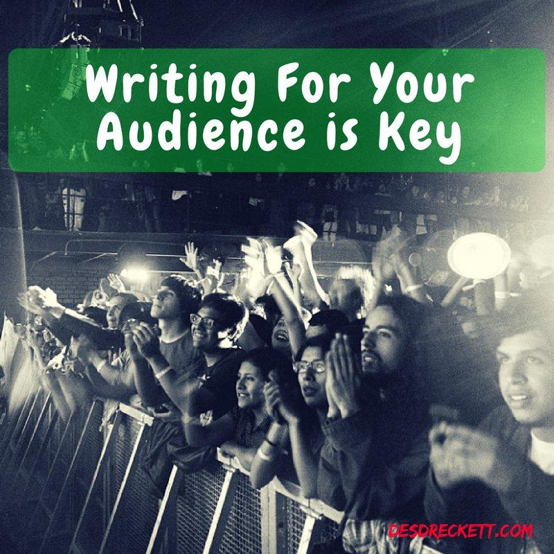 Writing For Your Audience is Key - #SmallBusinessMarketing Tips Friday Episode 6   https:// buff.ly/2xoZfZU  &nbsp;   @DesmondDreckett #marketingtips<br>http://pic.twitter.com/heHDLJf6mK