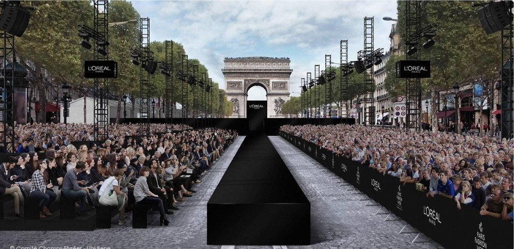 Save the date!  1th October, a fantastic fashion show will be on the Champs Elysee in #Paris #ChampsElysees with 60-meter catwalk!  #luxury<br>http://pic.twitter.com/CC3vqFoLp4