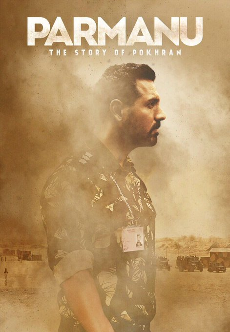 Join Ashwat in his mission. #Parmanu  @ParmanuTheMovie @kriarj @johnabrahament https://t.co/DQmIn8KloF