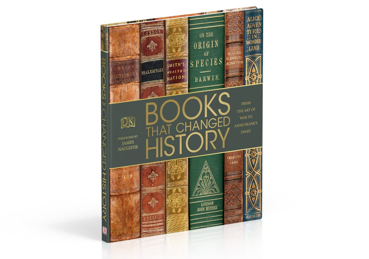 Follow &amp; RT by 5PM for a chance to #WIN #BooksThatChangedHistory! #WinItWednesday #competition #giveaway<br>http://pic.twitter.com/aSRUxWPfC9
