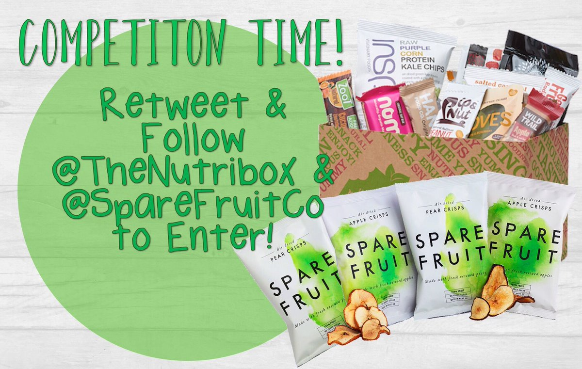 Don&#39;t miss out on our #competition this month to #win a @thenutribox + some of our tasty crisps! RT&amp;Follow us both #winitwednesday <br>http://pic.twitter.com/fXkr4inQ2D
