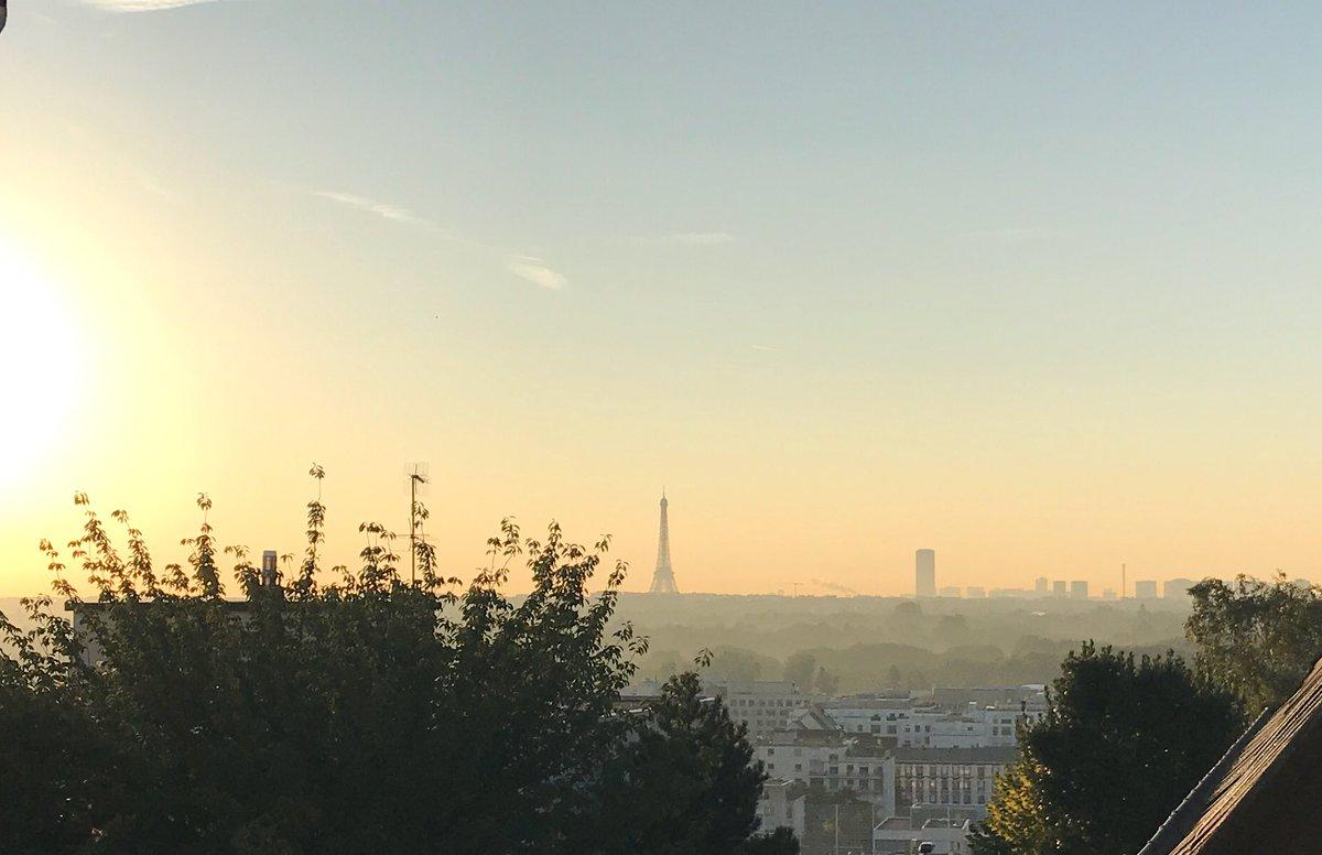 #JeSuisPasChochotteMais le petit froid ce matin ça pique un peu quand même, malgré le soleil.