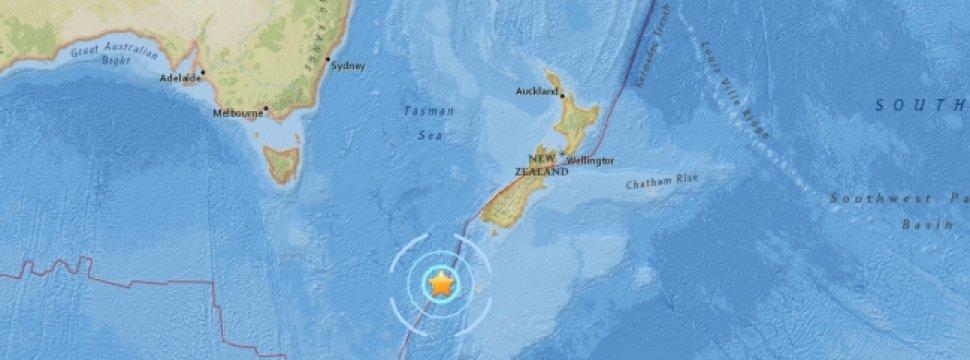 Sismo de magnitud 6,1 sacudió las aguas del sur de Nueva Zelanda https://t.co/N48sOUaWt7 https://t.co/nxFE0Opa4n