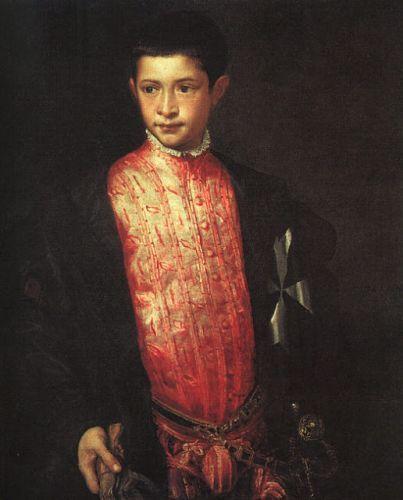 Artwork - Titian &gt; Portrait of Ranuccio Farnese 1542: Via Tiz...  http:// bit.ly/2fiuf7d  &nbsp;   #peintures <br>http://pic.twitter.com/FfrN2SKR6D