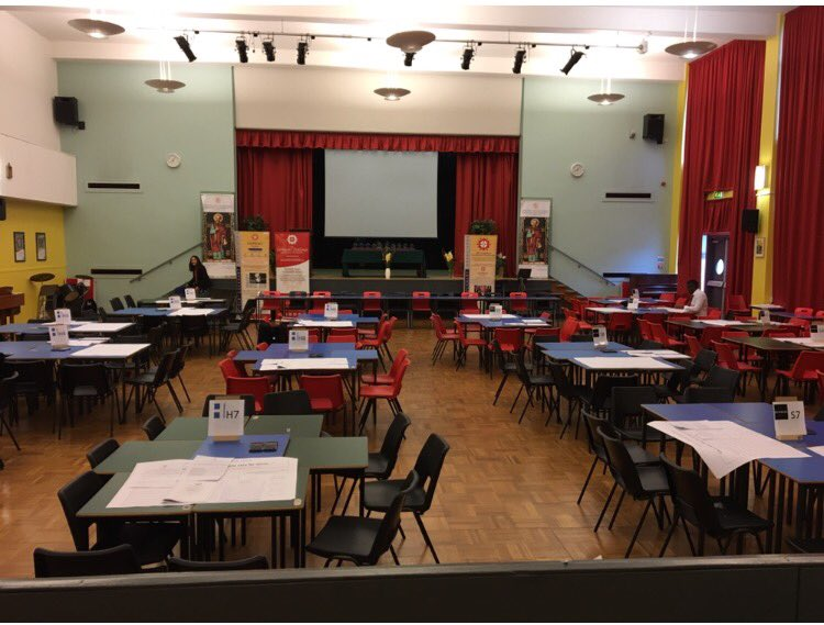 The stage is set for the BRAVEHEART challenge today for  S2 young people #socialenterprise #communityaction<br>http://pic.twitter.com/WKIk7FRFMZ