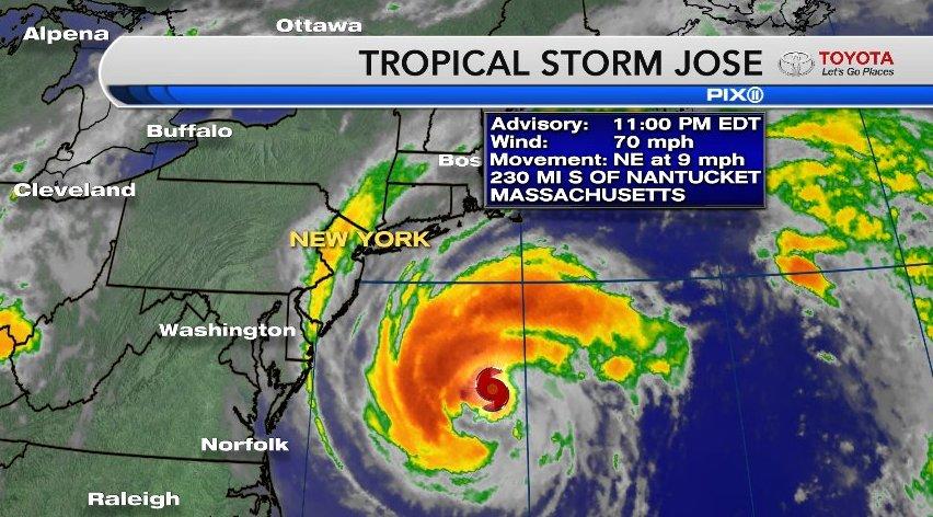 Jose downgraded to a Tropical Storm https://t.co/gW7JhIzAiu