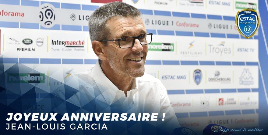 Joyeux anniversaire à notre coach, Jean-Louis #Garcia ! 🎉🎁
