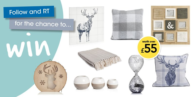 Fancy a #homeware update? Simply FOLLOW and RT to #WIN this bundle of #home accessories #WinItWednesday #Competition #Giveaway<br>http://pic.twitter.com/dWCX1AZhpA