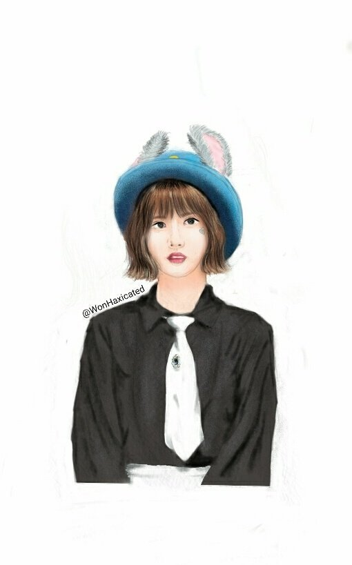 So I tried doing a #FANART of #EUNHA  It&#39;s messy and rushed but I hope you&#39;ll like it <br>http://pic.twitter.com/Q931DqGYuC