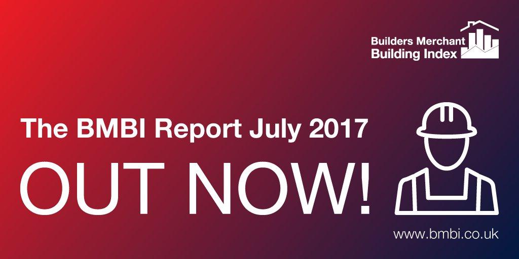 Here it is, the BMBI Report July 2017 #Builders #Construction #Data #Insight @GfK @bmf_merchants  https://www. bmbi.co.uk/the-index/  &nbsp;  <br>http://pic.twitter.com/JvsE5nPU2i