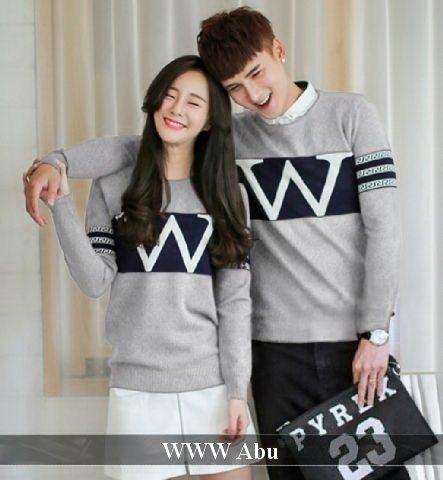 Couple Store Cs Jaket Pasangan Jaket Couple La Navy Grey New Best Source · Sweater Couple