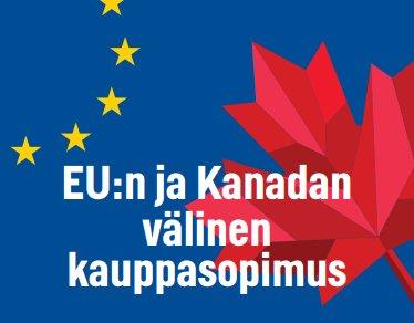 #CETA helpottaa vientiä, vähentää paperityötä ja alentaa kaupan kustannuksia. Lataa tästä @Ulkoministerio esite -> http://ow.ly/ut2U30fih9p