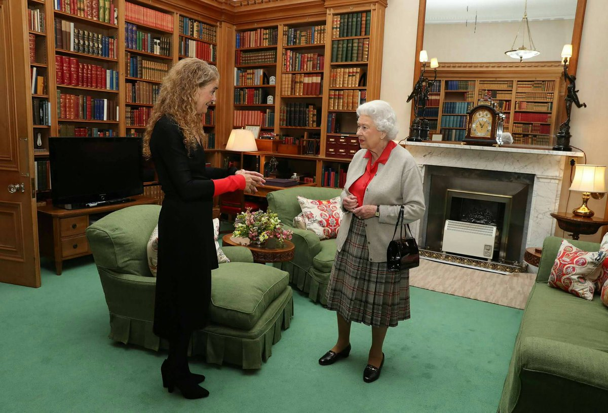 Yesterday, Governor-General Designate of #Canada, Julie Payette met with The #Queen, ahead of her installation in Oct. #cdncrown #cdnpoli<br>http://pic.twitter.com/1RriM3WVMJ