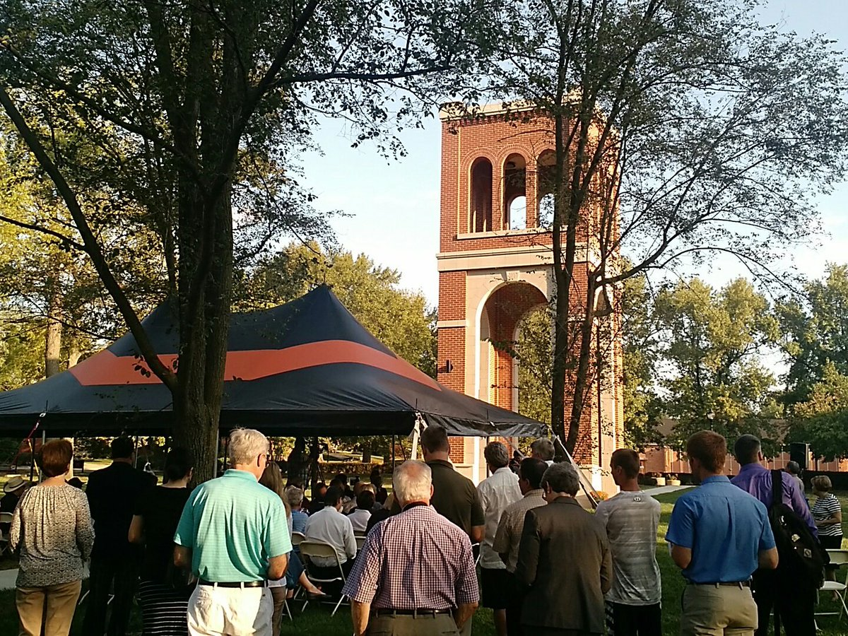 #live dedication of the new Hogue tower! #togetherGU  https:// m.facebook.com/story.php?stor y_fbid=1644621135556926&amp;id=271431076209279 &nbsp; … <br>http://pic.twitter.com/r4Mo3LYN6p