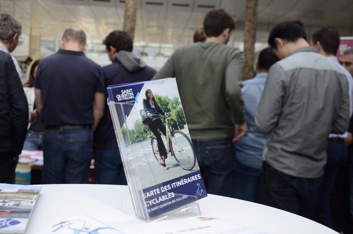 Pour la #semainedelamobilite, @sqy a sorti son nouveau plan des pistes cyclables 🚲sur les 12 communes. Profitez-en! https://t.co/sfjwJcflKC
