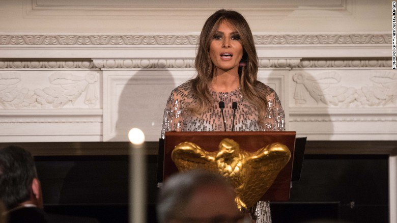 Melania Trump set to speak at UN luncheon https://t.co/ryvCx5GzpS