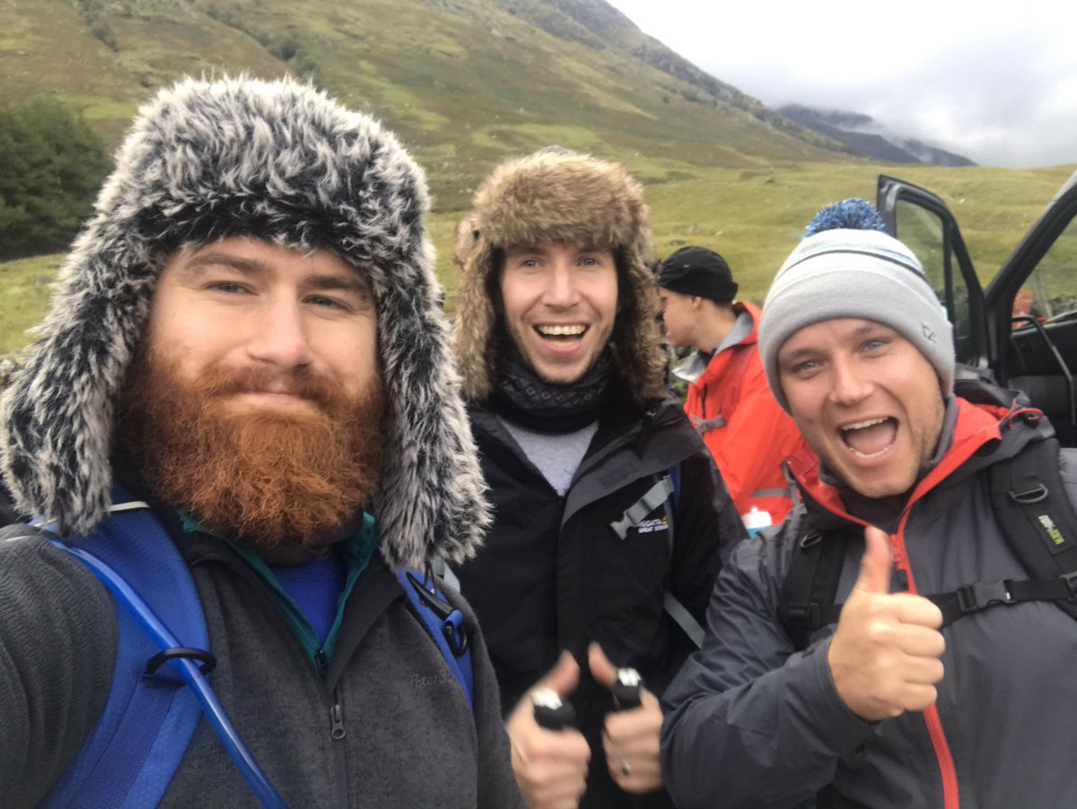 Thank you to everyone that has donated to #TBAF #ThreePeaks, here&#39;s a before/after photo of the lads! #AllSmiles<br>http://pic.twitter.com/sFDdwnTNUo