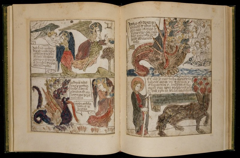 15th-century version of Revelation has many of the hallmarks of a graphic novel. [Vault folio inc. 15] #apocalypse #woodblock <br>http://pic.twitter.com/gfdvDIhD7b