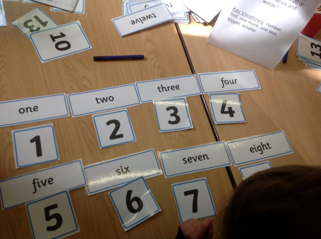 test Twitter Media - We have been very practical in showing our counting skills, one more one less,counting in 2's and matching numerals with words. #gorseymaths https://t.co/jEPMsobd3W