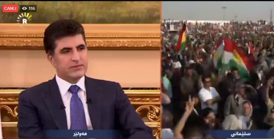 We wanted to hold an independence referendum in 2014, but #ISIS emerged, leading to delay — Kurdish Prime Minister #Barzani.<br>http://pic.twitter.com/55vTMlqHWU