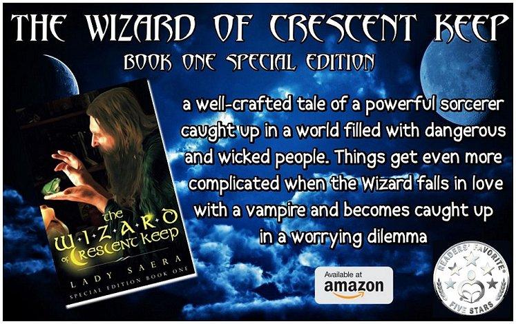 - The Wizard of Crescent Keep - #Fantasy #Epic #YA2Adult #Adventure #Magic #Romance #Wizards @LadySaera   http:// amzn.to/2wkFjDz  &nbsp;  <br>http://pic.twitter.com/bq6qTrdm9Z