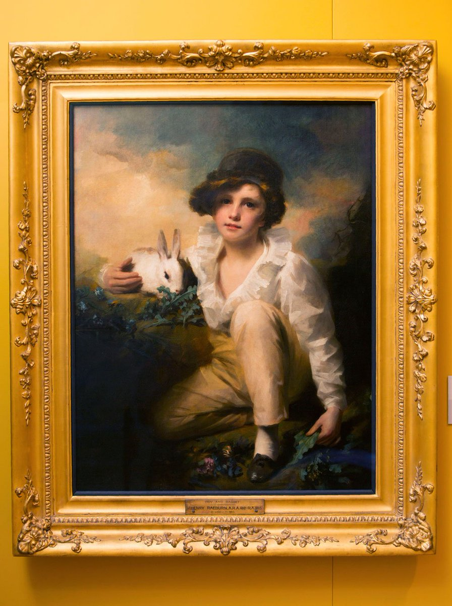 test Twitter Media - Here's Henry Raeburn Inglis, aka Boy with Rabbit, painted c. 1814. He was deaf. Now on display @KelvingroveArt until June next year. https://t.co/KC6ghK3lDY