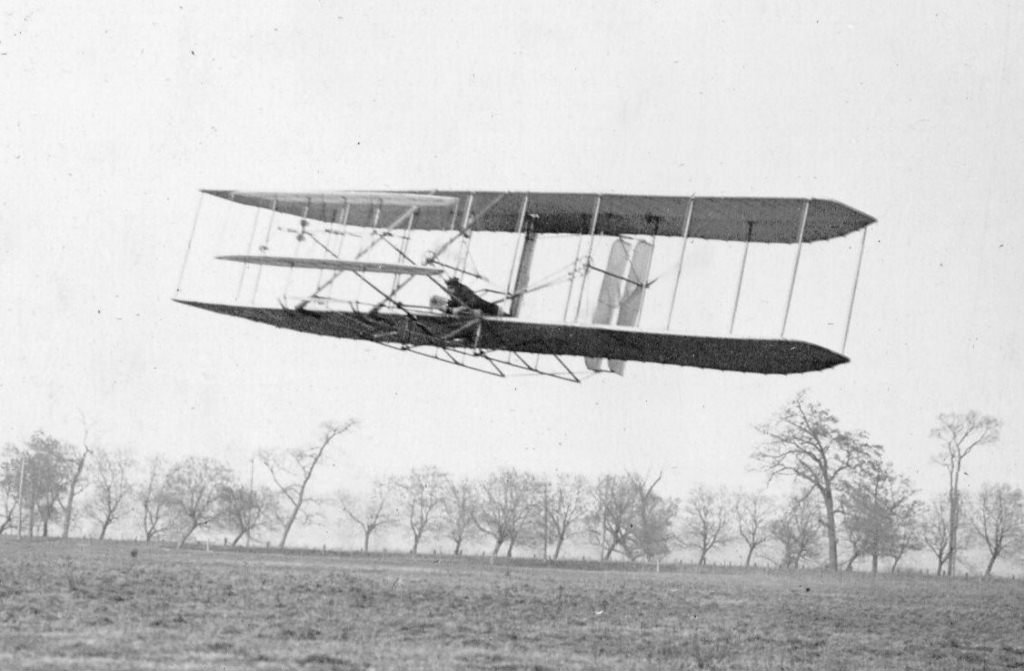 On this day 113 years ago: the Wright Brothers flew their first full circle in the 1904 Wright Flyer II.