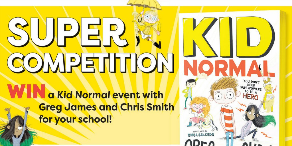 Win a #KidNormal event with @gregjames and @itschrissmith for your #school! Pick up your copy today to find out how to enter! (issue 587) <br>http://pic.twitter.com/kxOzcsviKa