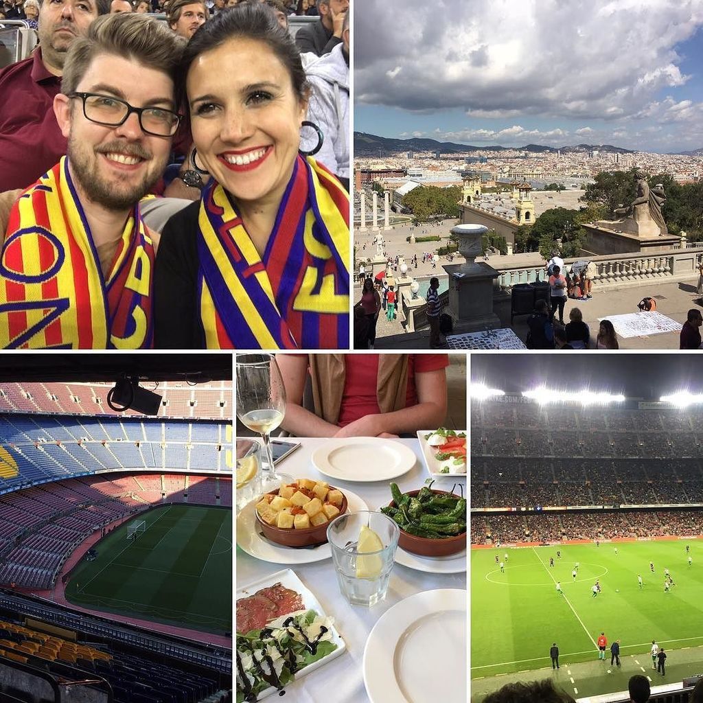 Day 8 - A huge day in #Barcelona! An open top bus tour, eating (again ), and camp nou both day and night. 6-1 #FC…  http:// ift.tt/2w6yp5i  &nbsp;  <br>http://pic.twitter.com/VqIvaprD7E