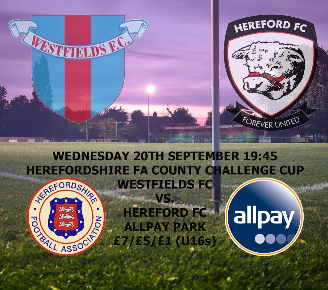 *TONIGHT* Friends, relatives, colleagues &amp; neighbours.... We ARE ALL HEREFORD! We ARE FOOTBALL! WE ARE WESTFIELDS FC! #Respect <br>http://pic.twitter.com/C3sXcnHi9u