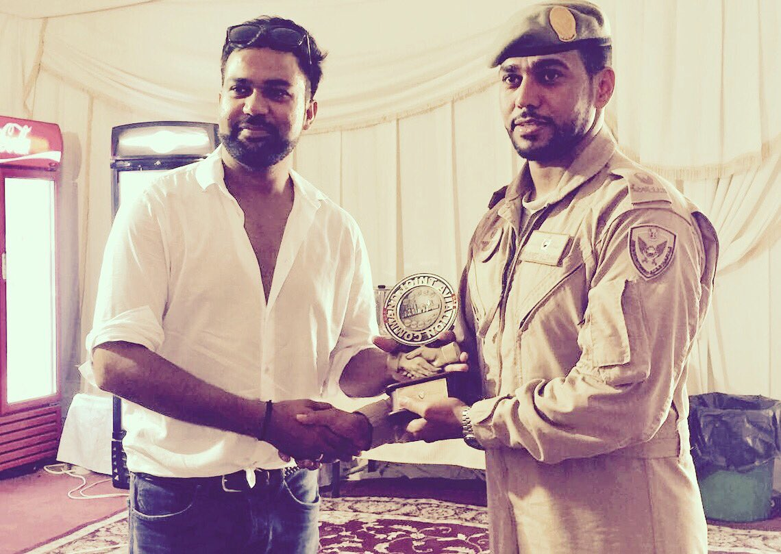 Thank you #Abudhabi #AirForce for all the support for @TigerZindaHai and special facilitation @yrf .<br>http://pic.twitter.com/9uRL2qVlJR