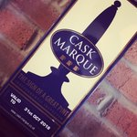 Delighted to receive our @caskmarque plaque! #goodbeer #thesignofagreatpint #caskale @BarnsleyCAMRA #barnsleyisbrill