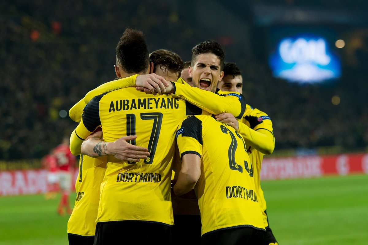 Most goals in #UCL group stage history?   21 – Dortmund (2016/17)  <br>http://pic.twitter.com/3eLEex0nf4