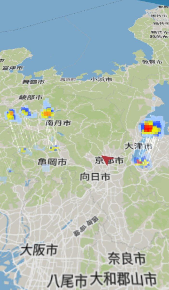 天気 レーダー 雨雲 市 大津