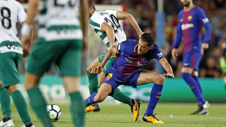 �� What a win last night! Here are some more top shots from #BarçaEibar ���� Força Barça! https://t.co/RzIGCY1Em3