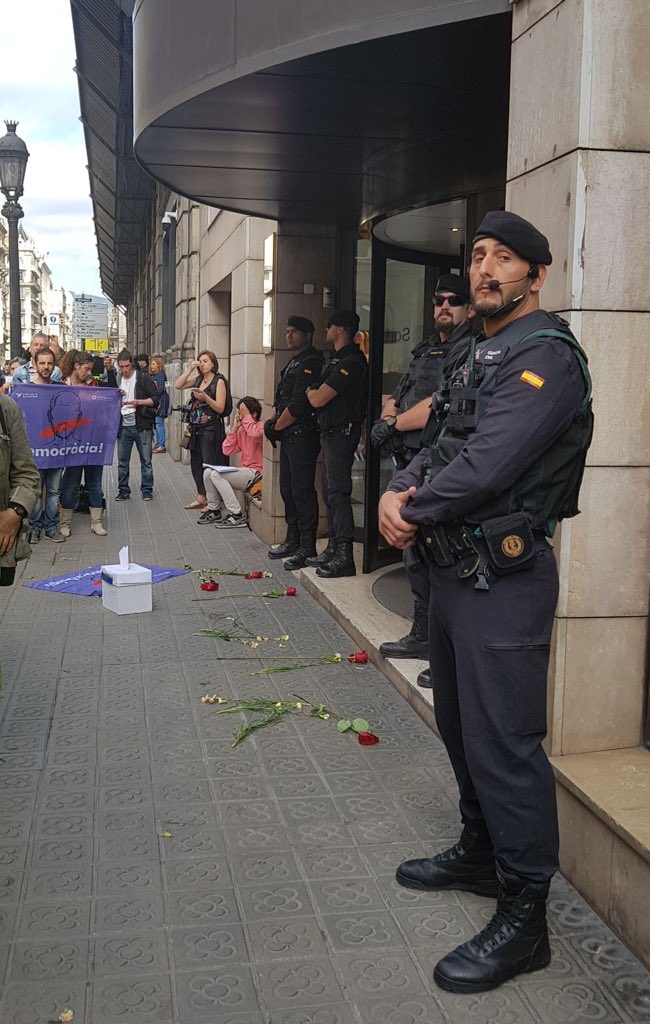 В Каталонии введен режим ЧП