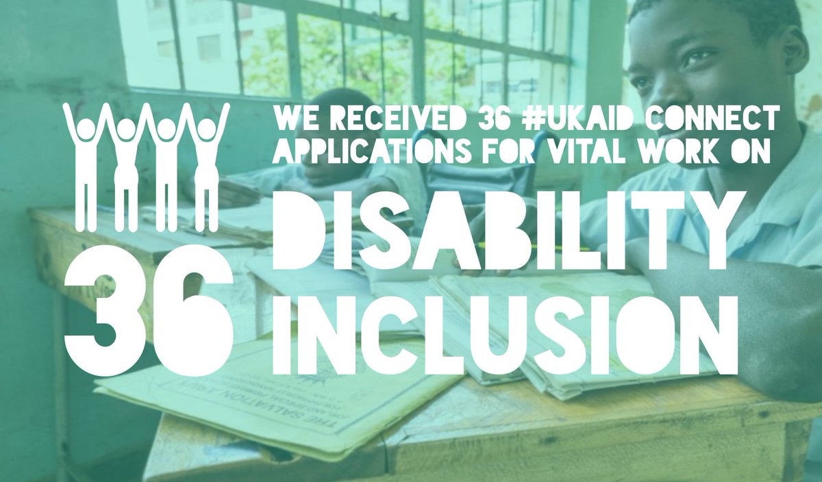 We received 36 applications for #UKaid Connect funding for vital work on #Disability #Inclusion! Stay tuned for updates! #LeaveNoOneBehind <br>http://pic.twitter.com/5vTlRF6CEP